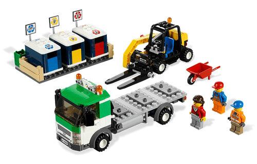 Lego Recycling Truck #6