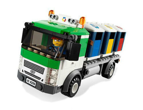 Lego Recycling Truck #2