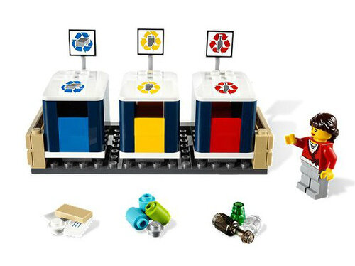 Lego Recycling Truck #3