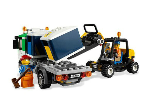 Lego Recycling Truck #4