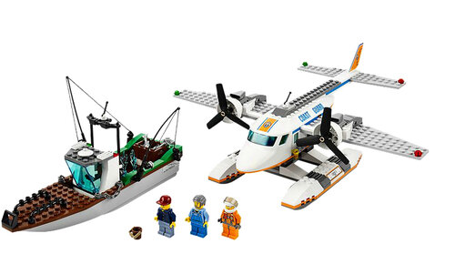 Lego Coast Guard Plane #2