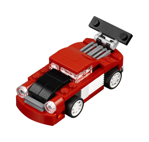 Lego Red Racer #3