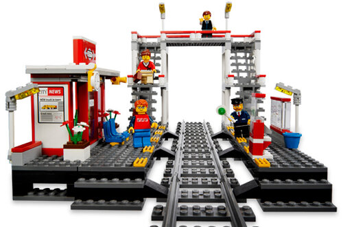 Lego Train Station #3