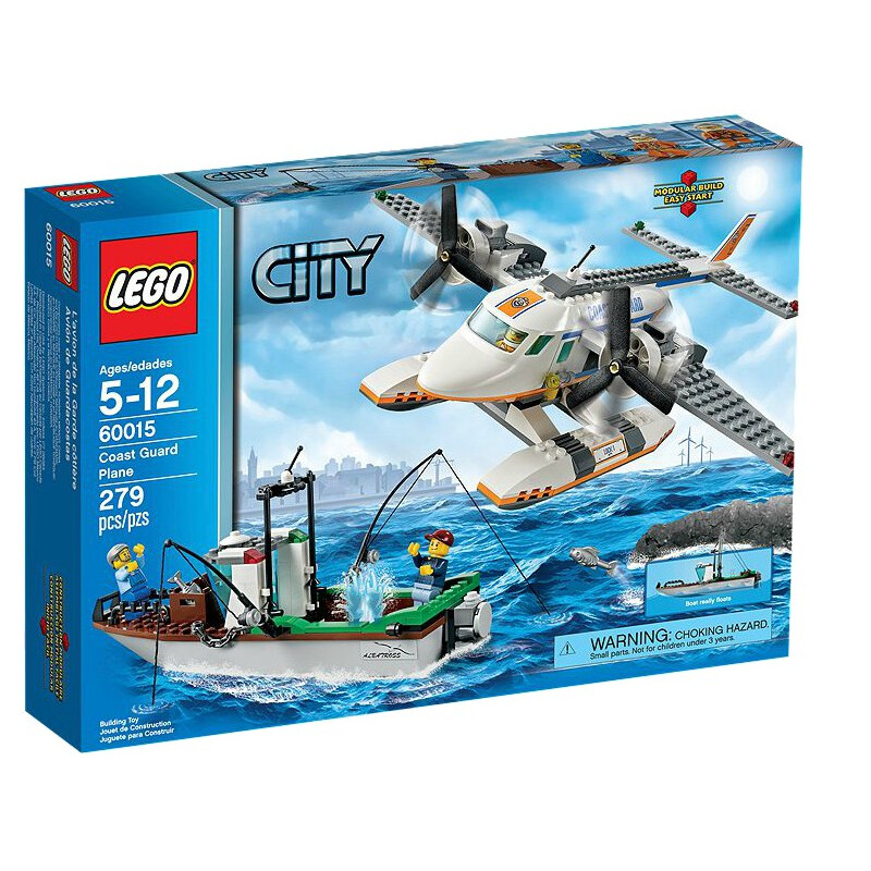 Lego Coast Guard Plane #1